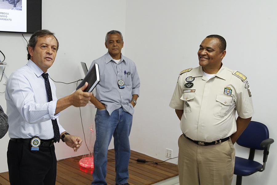 Encontro da GM-Rio na Divisão de Homicídios marca interação com a Polícia Civil