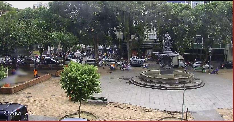 Operação na Praça São Salvador prossegue com reforço de câmeras e patrulhamento com cães