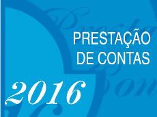 Publicada a Prestação de Contas Completa 2016