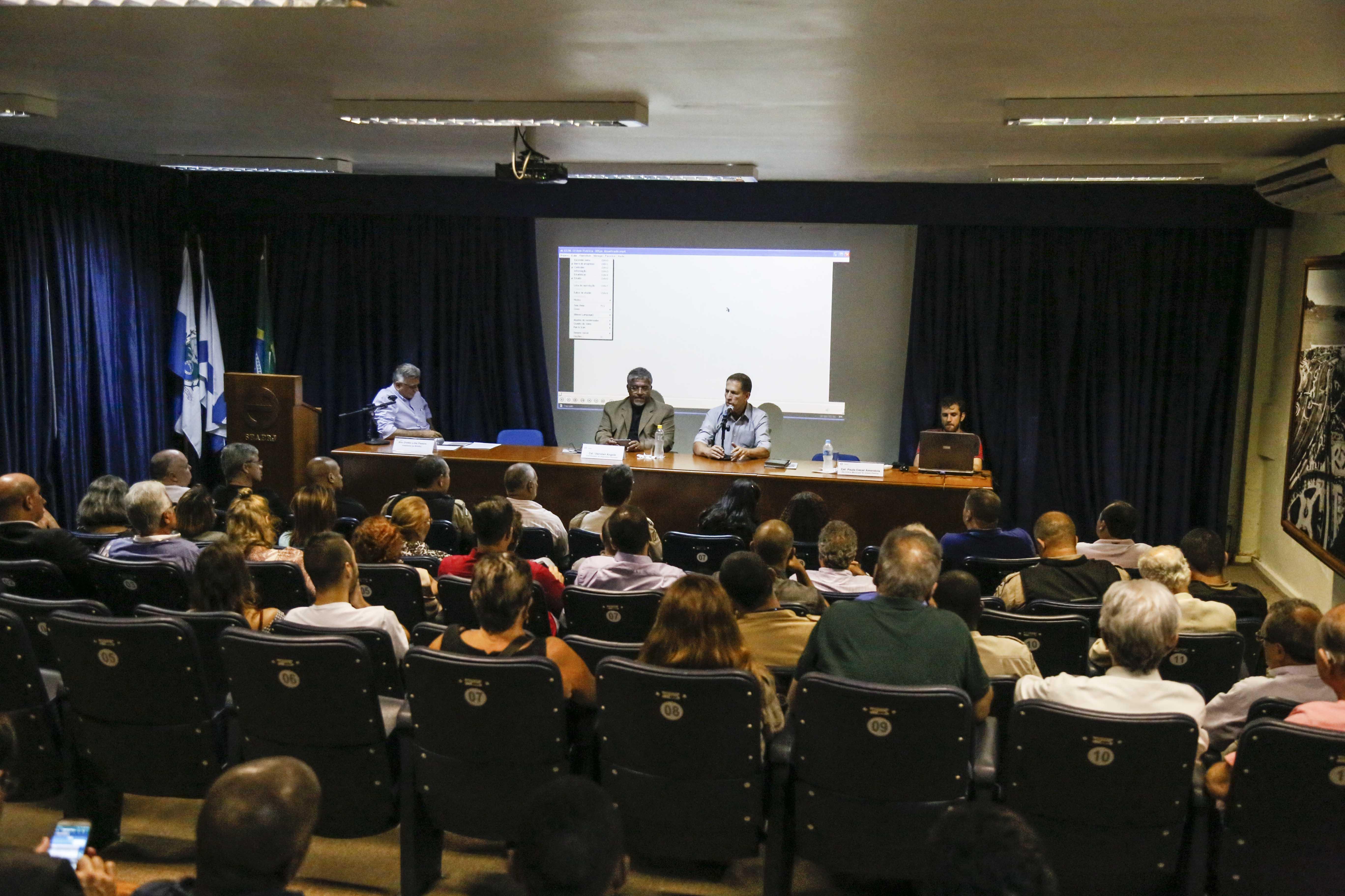 Secretário Paulo Amendola fala sobre segurança pública na Seaerj