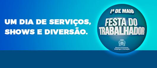Prefeitura comemora Dia do Trabalhador com programação gratuita no Boulevard Olímpico