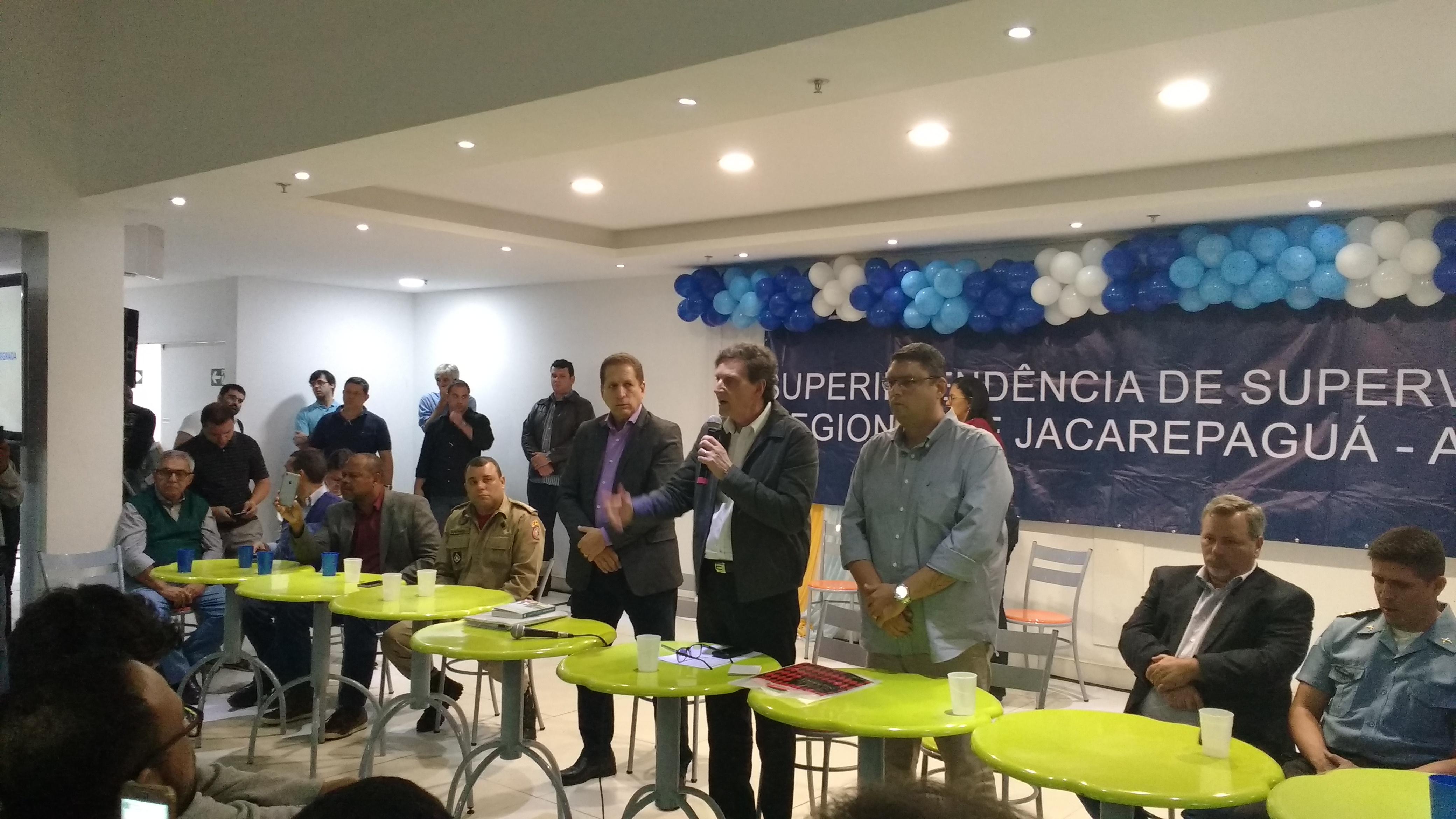 Prefeitura lança o Programa de Segurança Integrada de Jacarepaguá