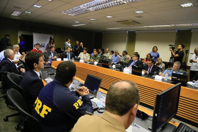 GGIM debate controle de armas e munições com forças de segurança