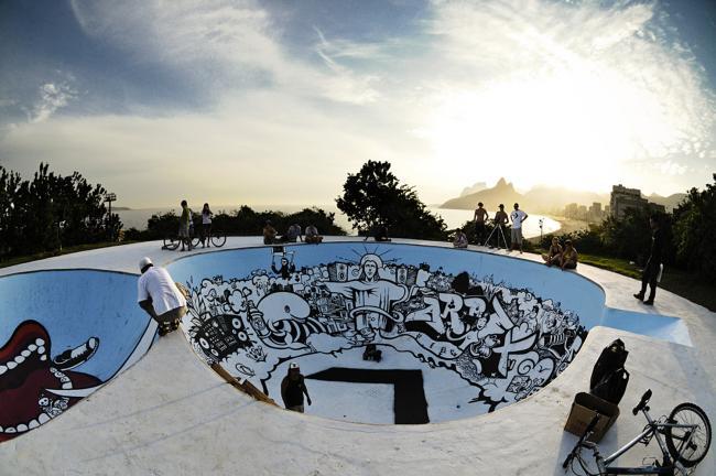 Prefeitura do Rio faz operação conjunta no Parque Garota de Ipanema