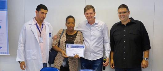 Crivella lança campanha de aleitamento materno