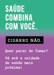 Banner Campanha Cigarro Não