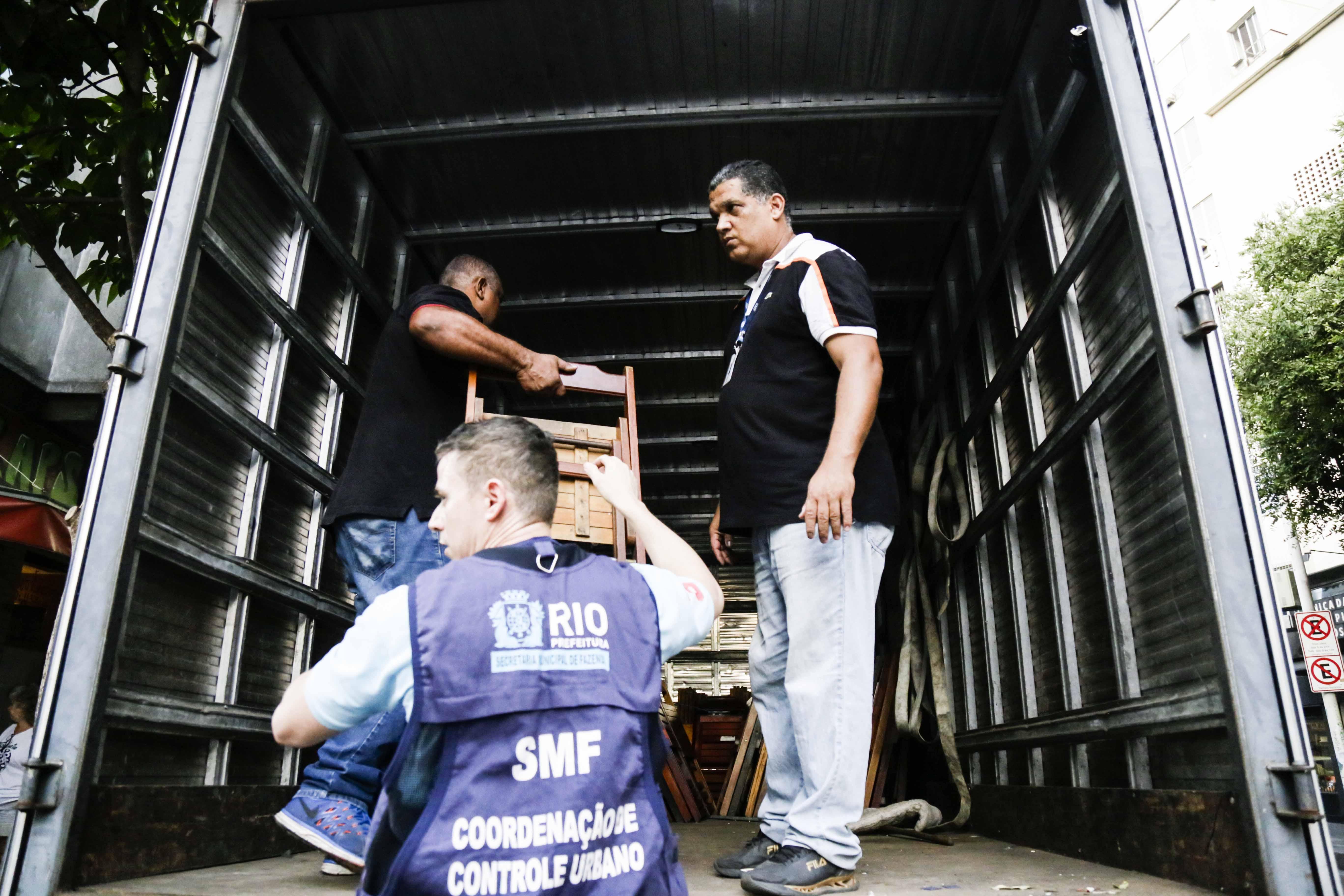 Prefeitura do Rio intensifica operações de ordenamento urbano