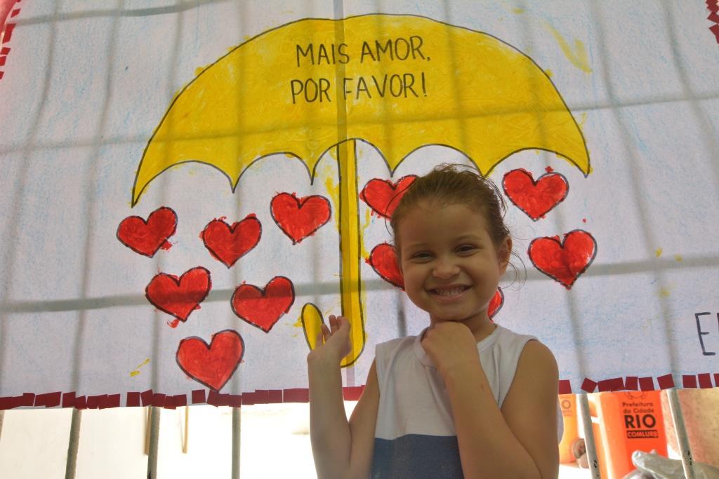 EDI Noronha Santos trabalha projeto de paz na primeira infância