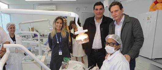 Crivella inaugura clínica da família na Zona Oeste