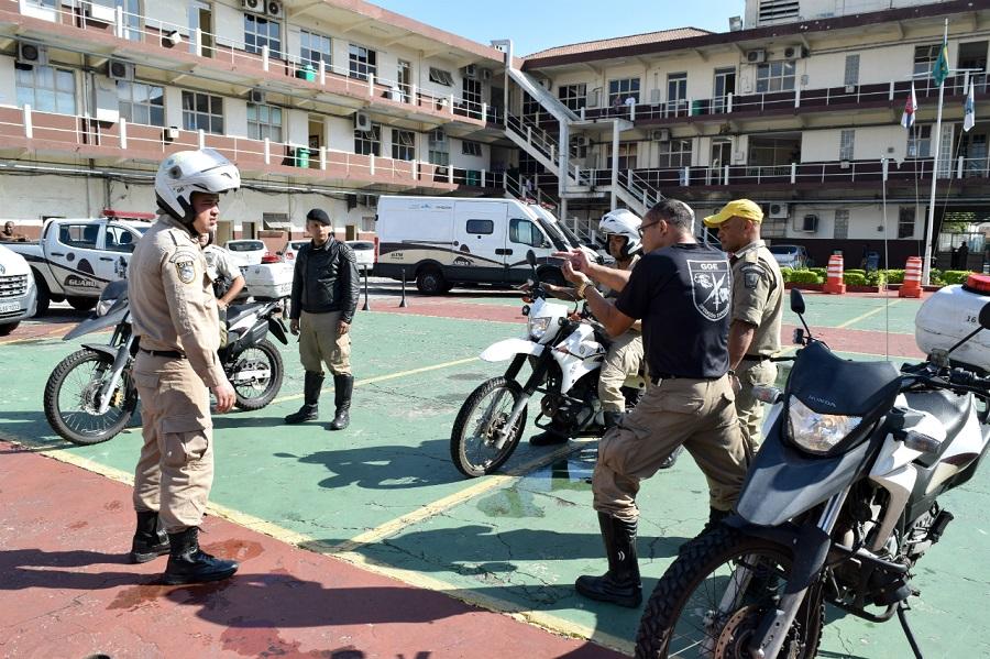 Guarda Municipal capacita motociclistas para atuar em patrulhamento na cidade