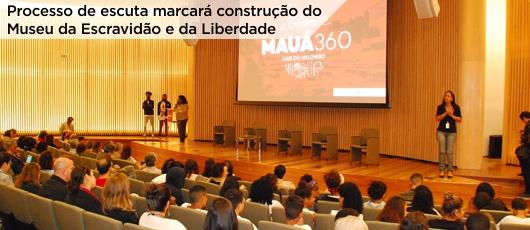 Processo de escuta marcará construção do Museu da Escravidão e da Liberdade banner