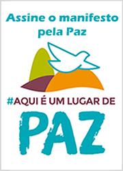 Banner Manifesto pela Paz