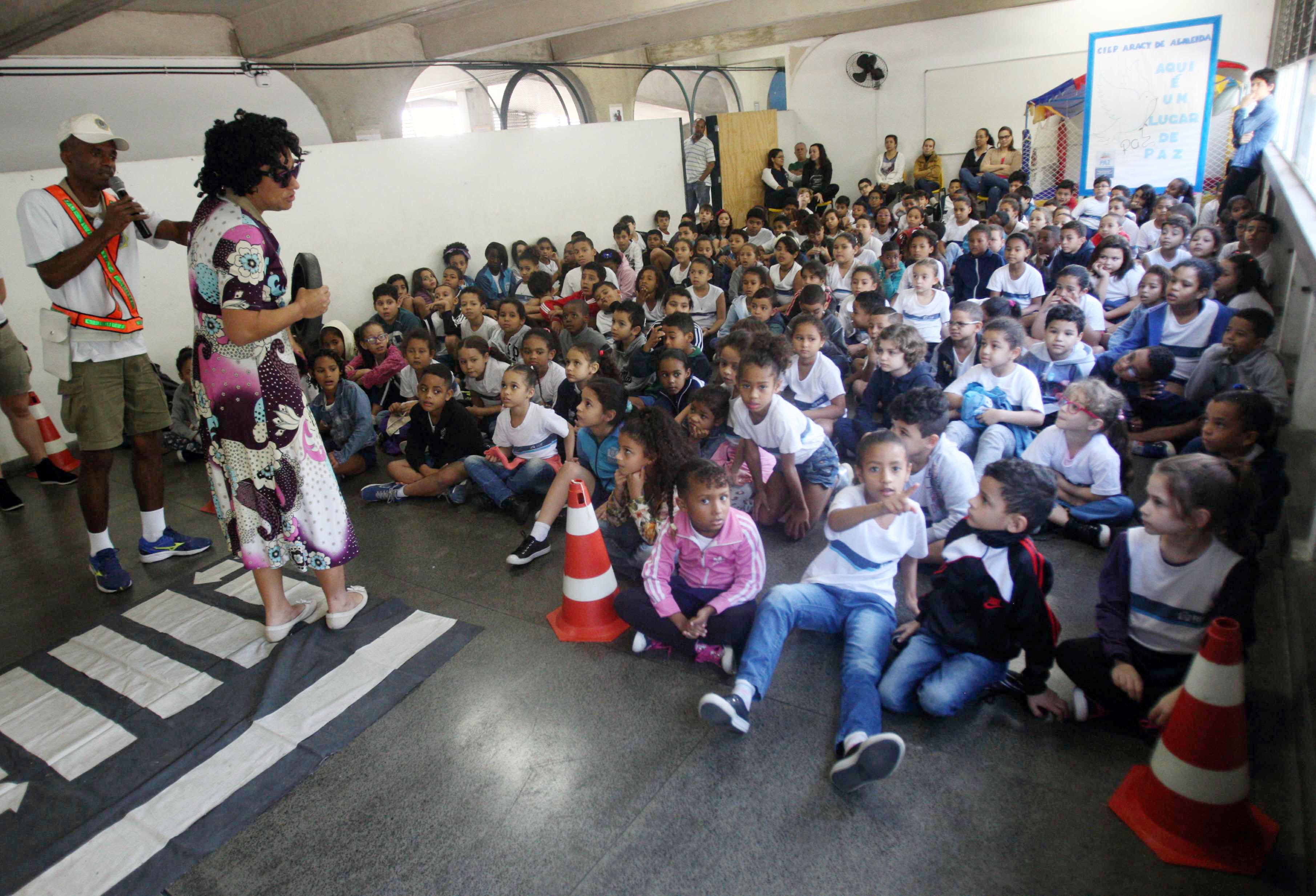 Grupamento de Ronda Escolar faz a diferença na vida de alunos da rede municipal
