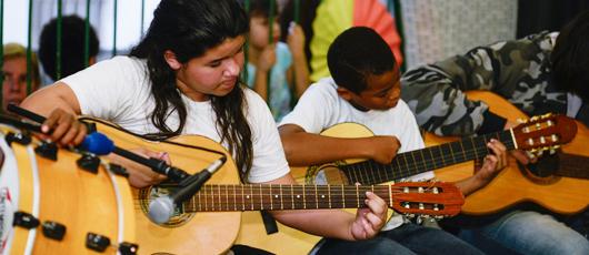 Orquestra nas Escolas já deu seus primeiros acordes para formar 80 mil instrumentistas até 2020