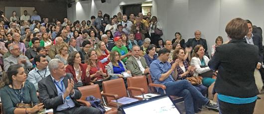 Mais de 280 pessoas estiveram presentes na primeira audiência pública do Plano Estratégico