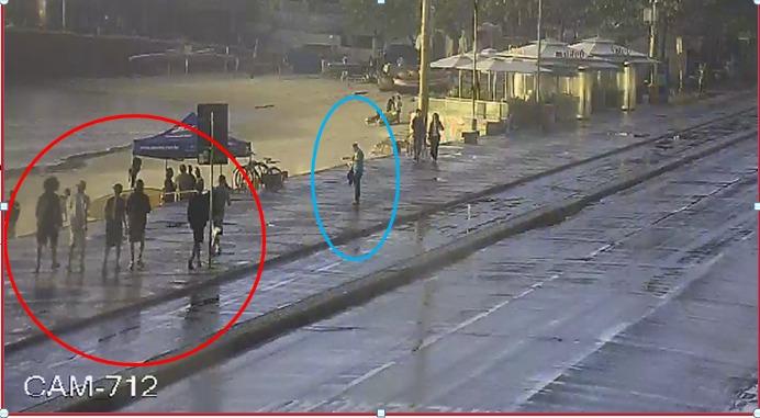 Guardas do Núcleo de Videopatrulhamento ajudam na identificação de acusados de furto em Copacabana