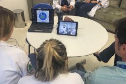 Clínica da Família de Rio das Pedras realiza transmissão ao vivo de microcirurgia