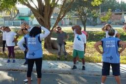 Clínica da Família promove grupo de caminhada para combater o sedentarismo