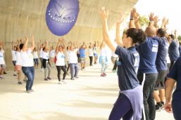 Saúde realiza evento de combate à hanseníase no Parque Madureira