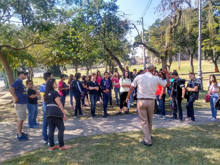 GM-Rio recebe estudantes de Maricá e São Gonçalo para visita à  Quinta da Boa Vista