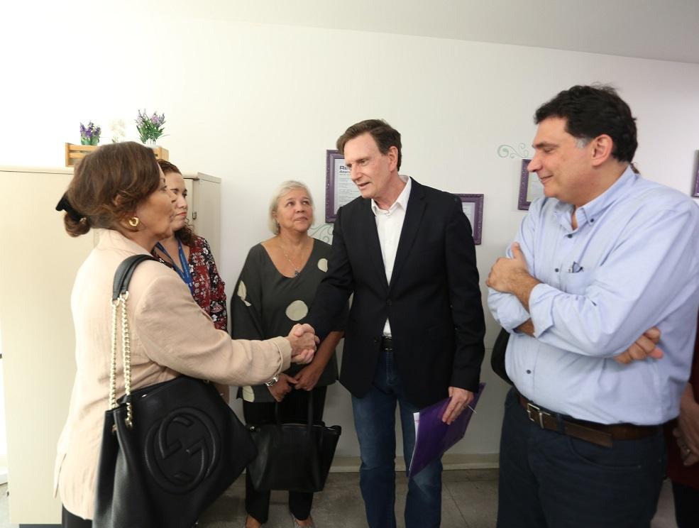 Crivella visita no IML espaço de acolhimento às vítimas de abuso doméstico ou sexual