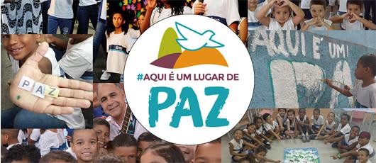 Alunos da rede municipal celebram a paz nesta quinta-feira