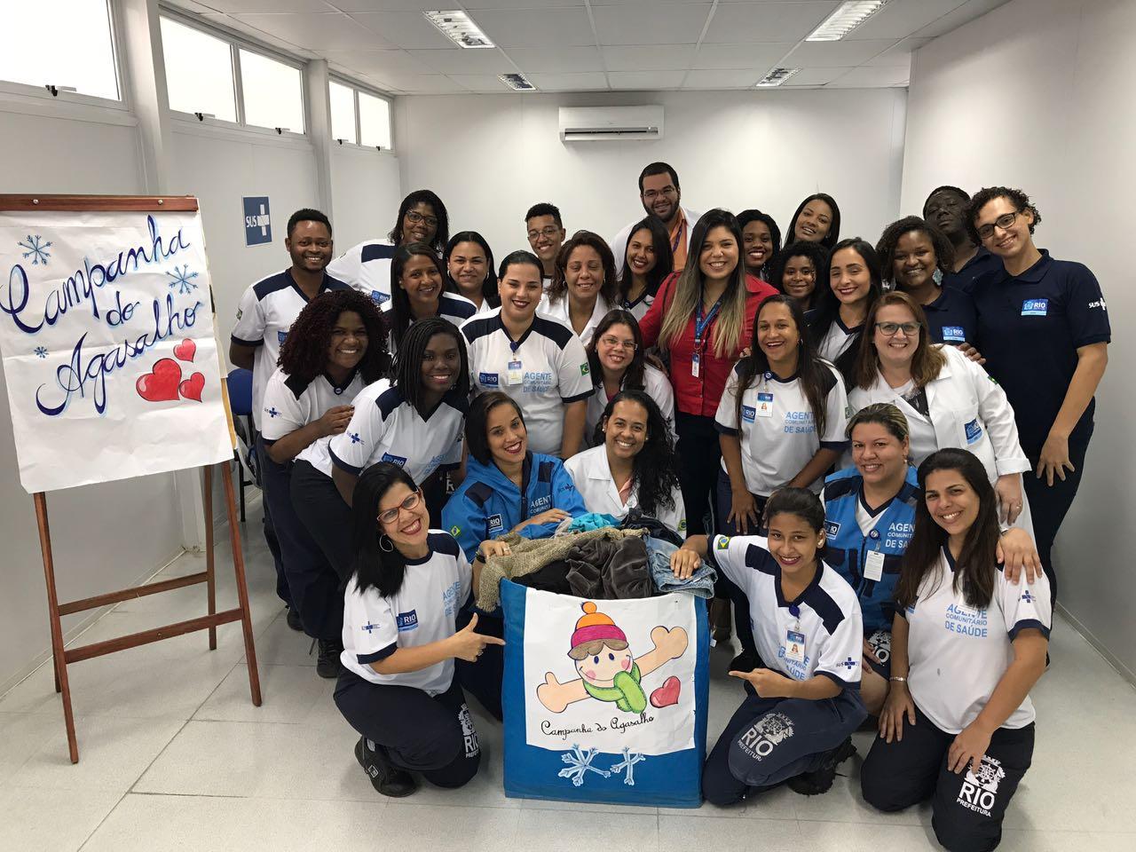 Clínica da Família Amélia dos Santos promove Campanha do Agasalho