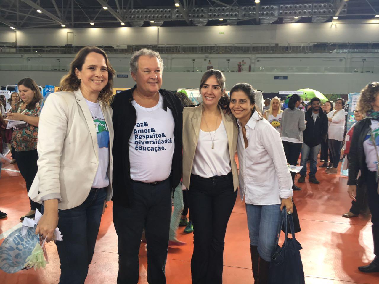 Programa de Saúde Vocal participa de evento para promoção da paz