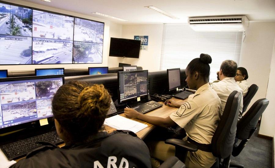 Pessoas físicas e jurídicas poderão ceder imagens de câmeras de segurança para a Prefeitura do Rio