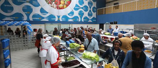 Restaurantes Populares do município concorrem a prêmio internacional