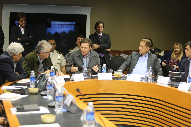 Crivella propõe acordo entre municípios da Região Metropolitana para segurança