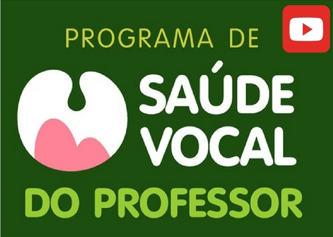 Programa de Saúde Vocal lança canal no YouTube