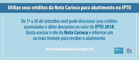 banner nota carioca setembro 2017