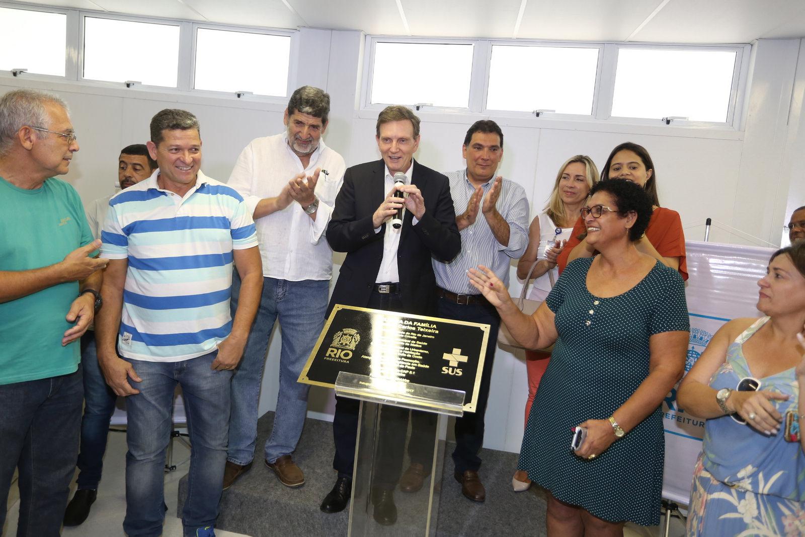 Nova Clínica da Família de Realengo beneficiará mais de 35 mil pessoas