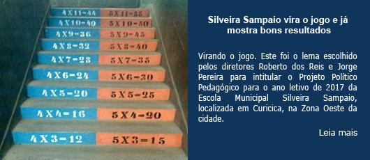 Silveira Sampaio vira o jogo e já mostra bons resultados
