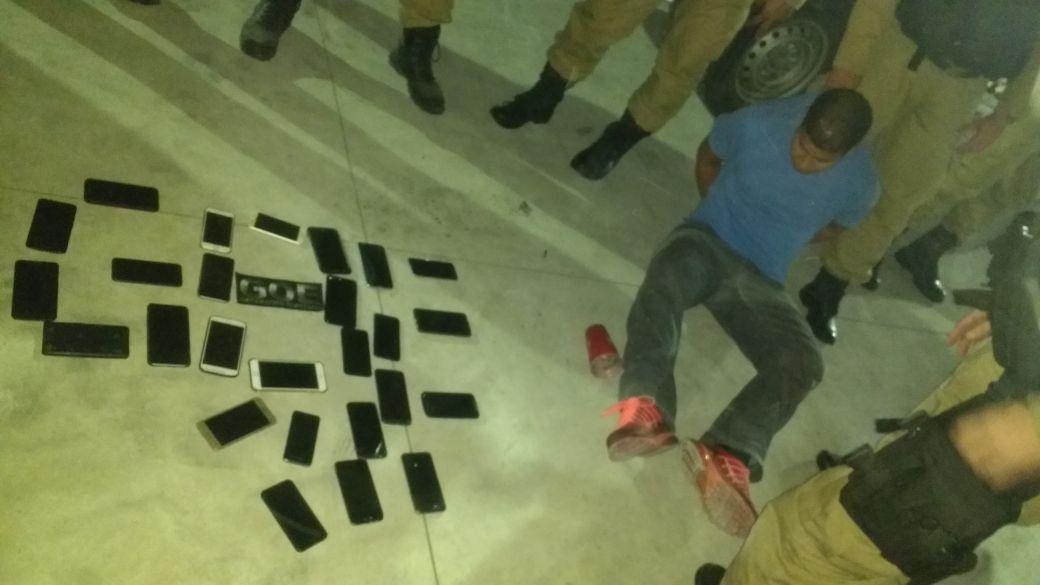 Guardas prendem homem com 28 telefones celulares no segundo dia da operação para o Rock in Rio