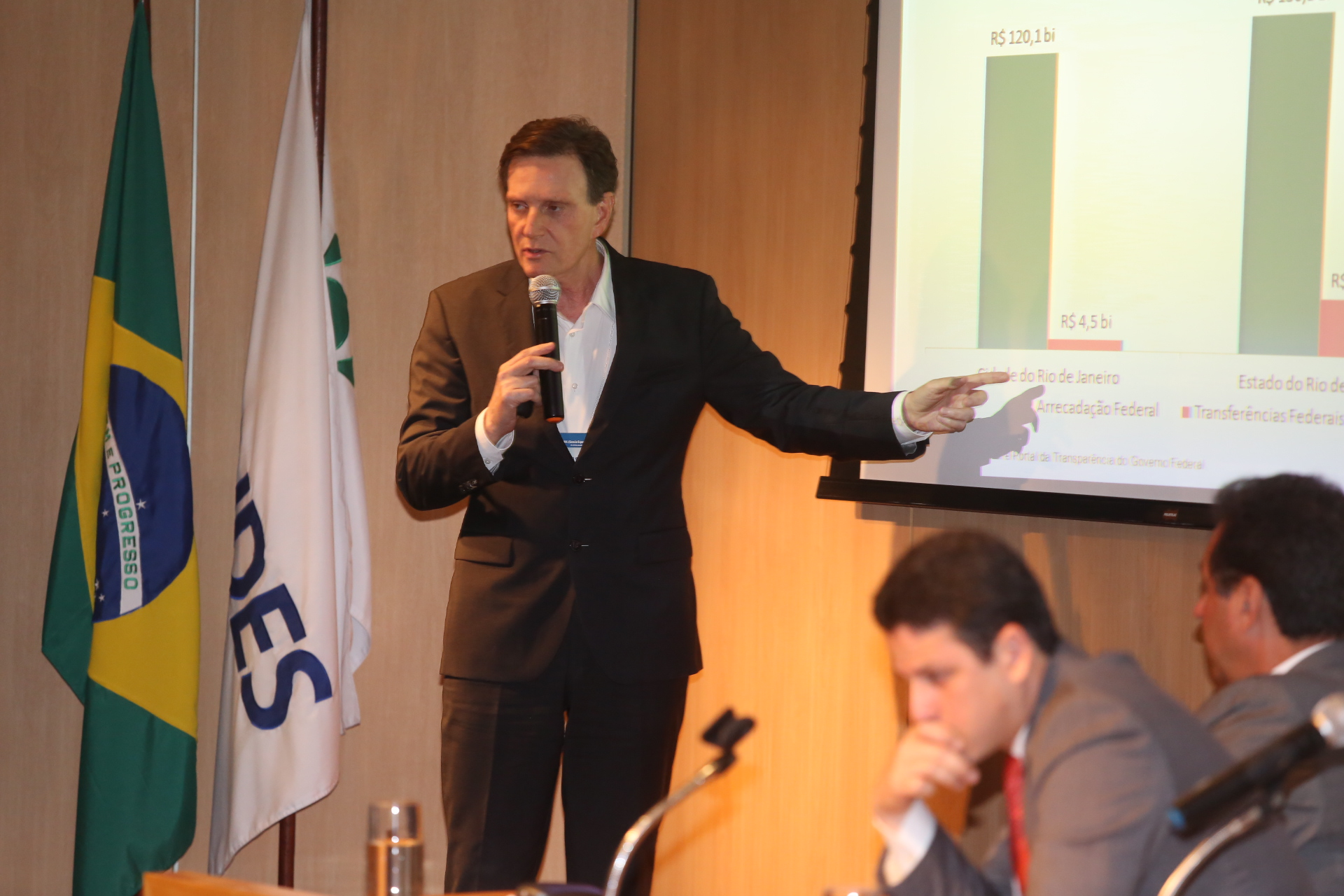 Crivella defende pacto federativo para acabar com desequilíbrio fiscal no Rio