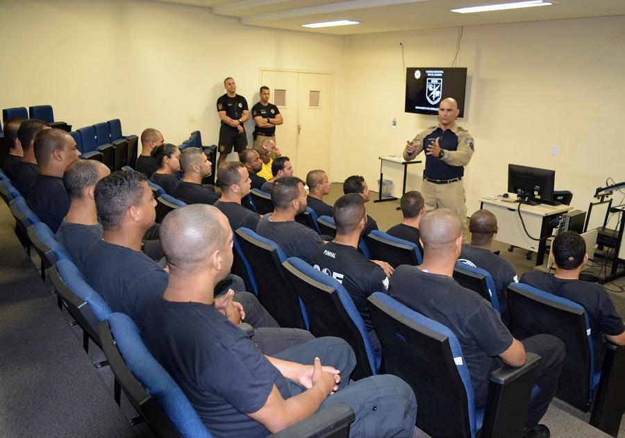 Guarda Municipal realiza treinamento operacional  para agentes de segurança do MetrôRio