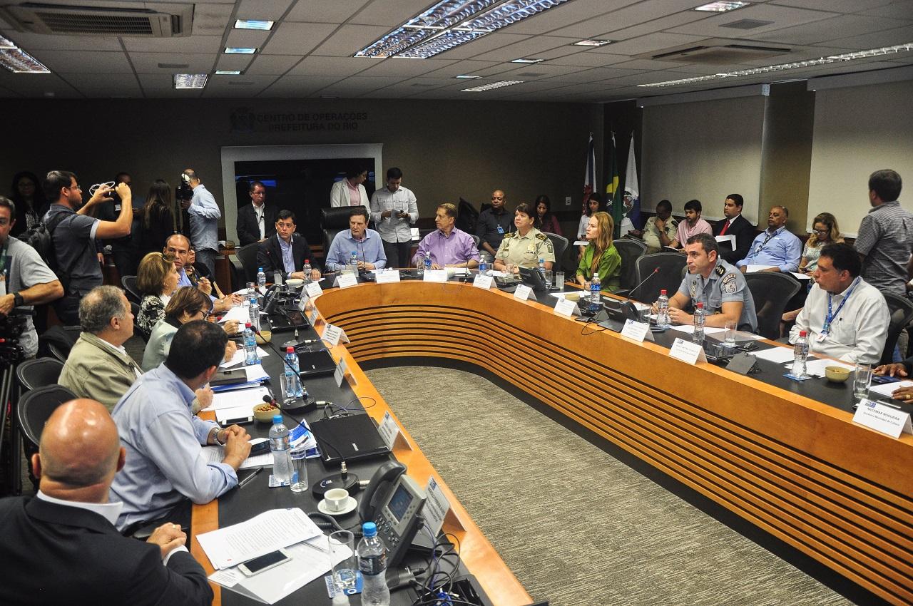 Prefeito reúne Gabinete de Gestão Integrada e debate ações voltadas à segurança