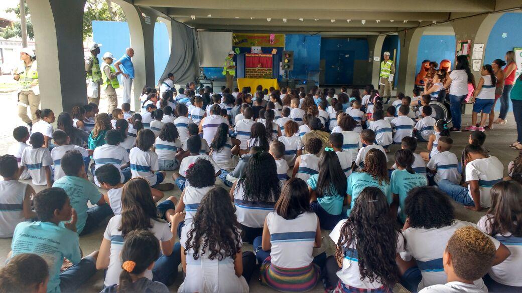 Guarda Municipal participa de ações integradas de conscientização de trânsito em Campo Grande