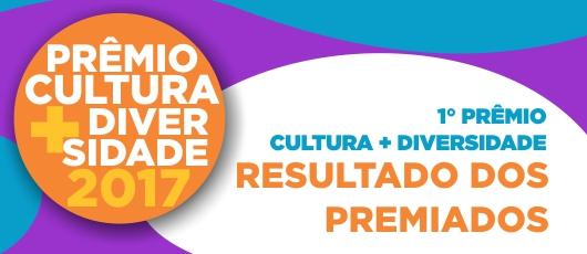 resultado prêmio cultura diversidade