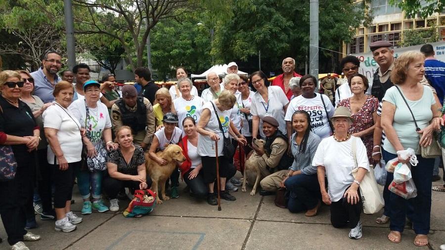Guarda Municipal participa de ações especiais em comemoração ao Dia do Idoso