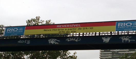 CET-RIO altera horário de algumas reversíveis da cidade