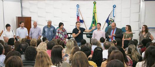 Secretário Pedro Fernandes se reúne com nova equipe e cria canal direto com os funcionários