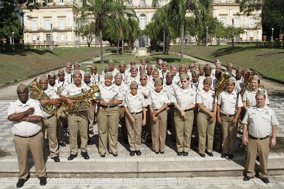 Banda da Guarda Municipal realiza apresentação gratuita na Escola de Música da UFRJ