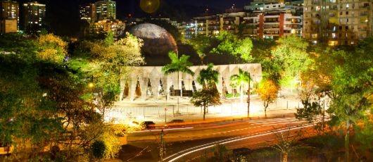 Planetário da Gávea recebe reforço na iluminação
