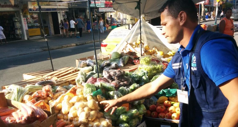 Superintendência fiscaliza o comércio irregular em Campo Grande
