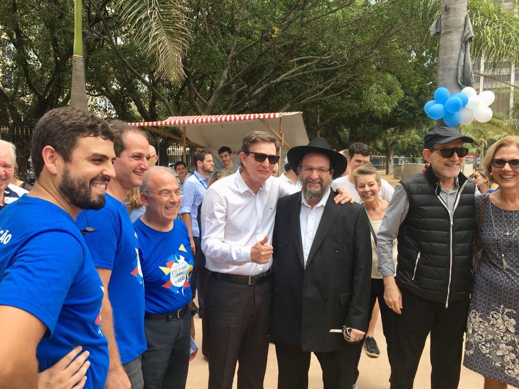 Prefeito defende a tolerância religiosa no 1º Fest Rio Judaico
