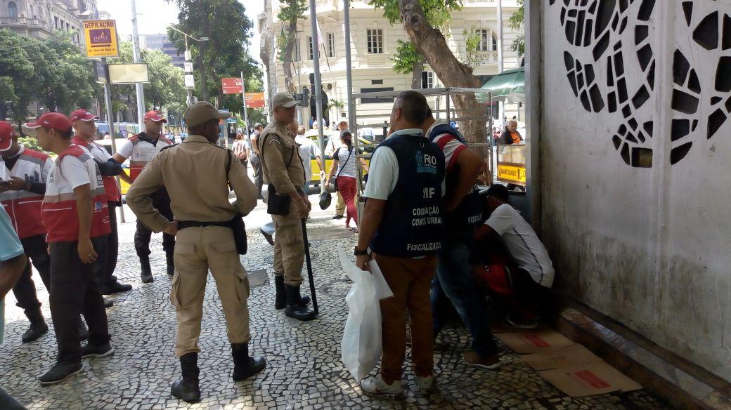 Guarda Municipal atua em ações integradas de ordenamento urbano no Centro e nas zonas Norte e Oeste