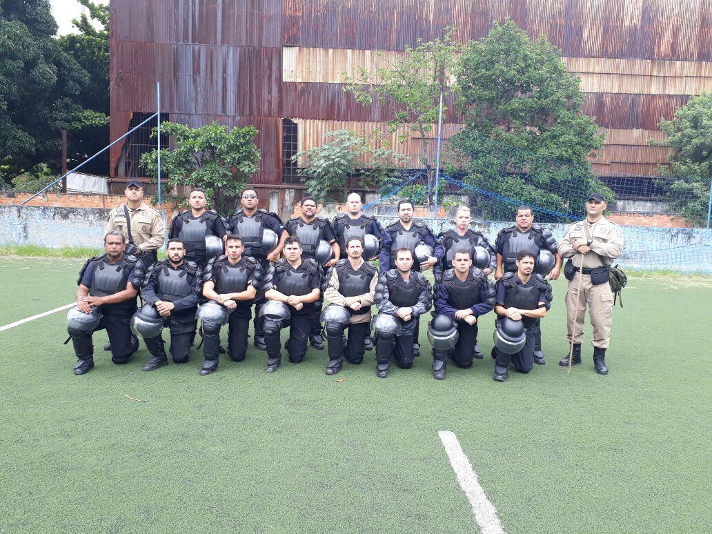 Guarda Municipal ministra estágio tático operacional para 16 agentes do Degase
